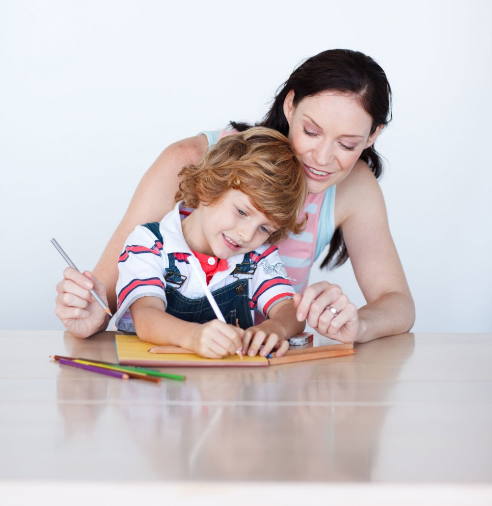 Рисованные картинки сын и мама 11 фотография
